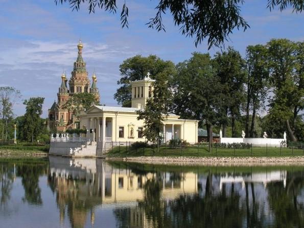 Ольгин пруд и Ольгин павильон
