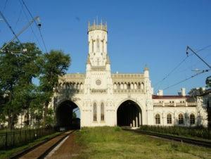 вокзал Петергоф