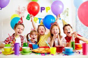 Детский праздник в кафе Гостилицы